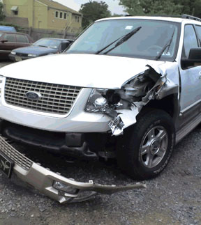 Ford Explorer accident