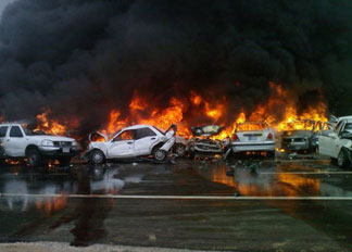 UAE Massive Traffic crash
