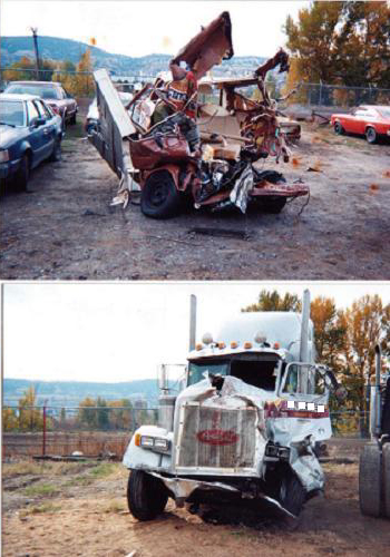 Truck Car Accident