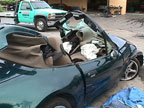 BMW z3 crash 2